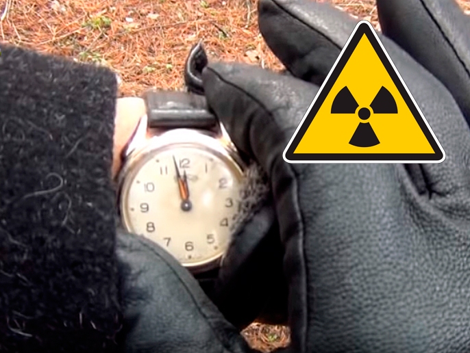 Самые радиоактивные наручные часы Советского Союза /><span class=