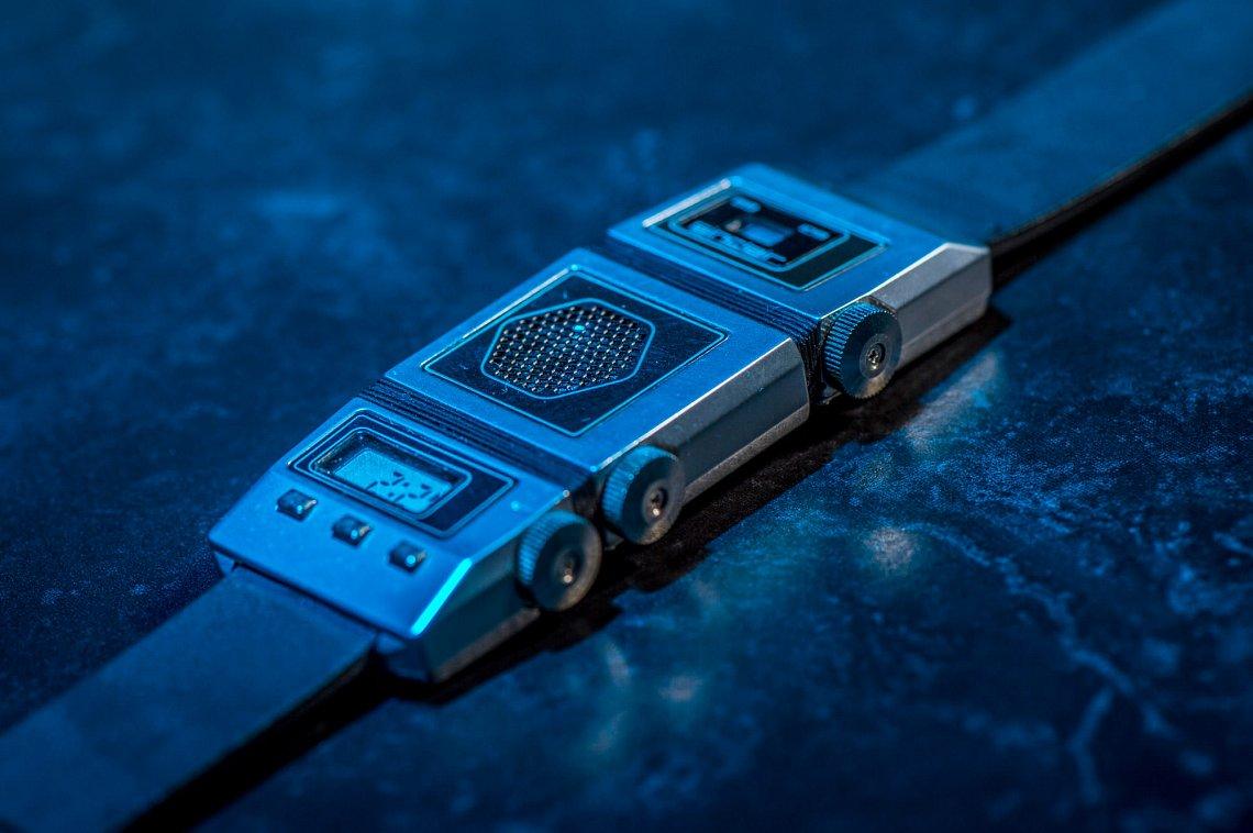 Неизвестные наручные супер часы с радио из Советского Союза
