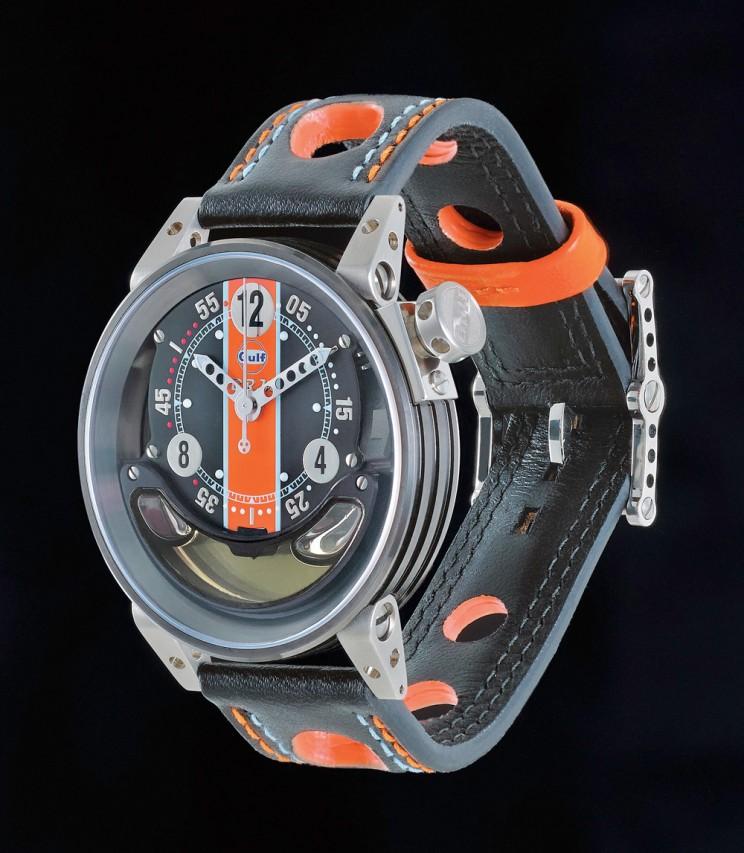 Часы с моторным маслом от гоночного суперкара