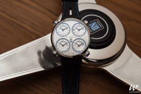 Необычные часы Meccaniche Veloci созданы в содружестве с известным производителем классических спортивных рулей